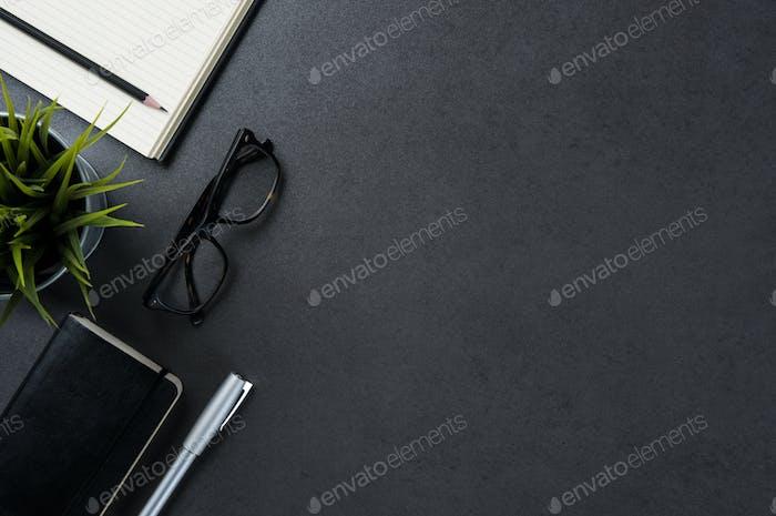 Business desk background