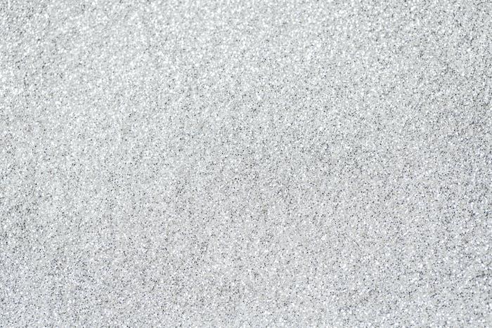Silver glittering shiny sequins background