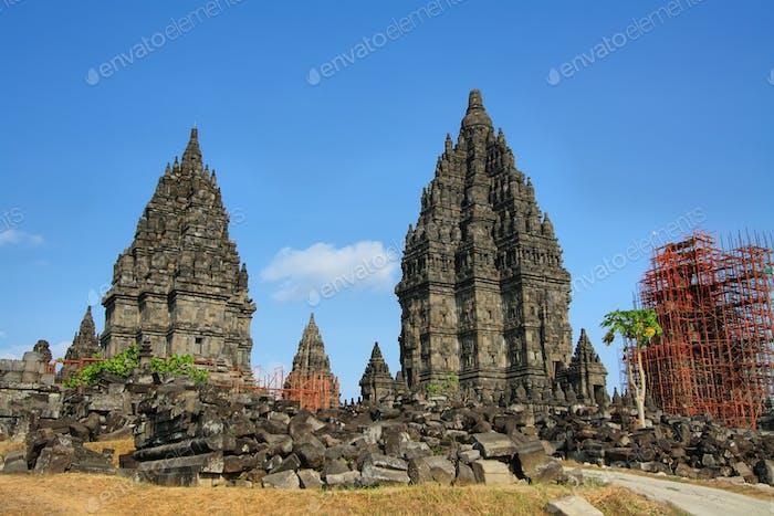 Prambanan temple in Yogyakarta