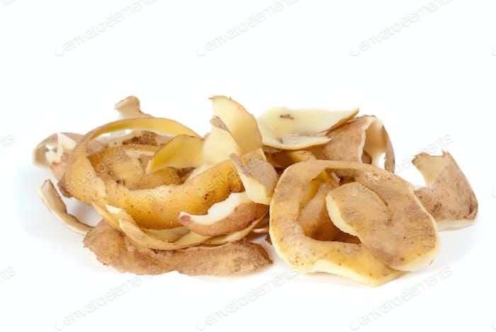 Some potato peel