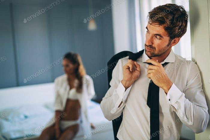 Problemas de relación que afectan el deseo sexual también