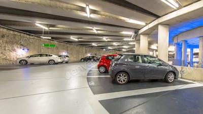 Circular Underground parking