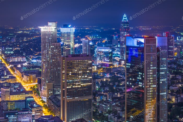Frankfurt Germany Cityscape
