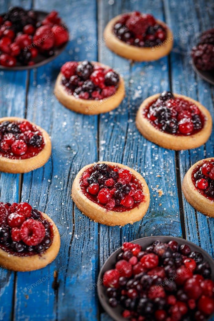 Pastry sweet cakes