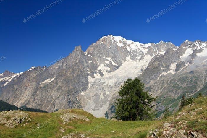 Mont Blanc, Italien