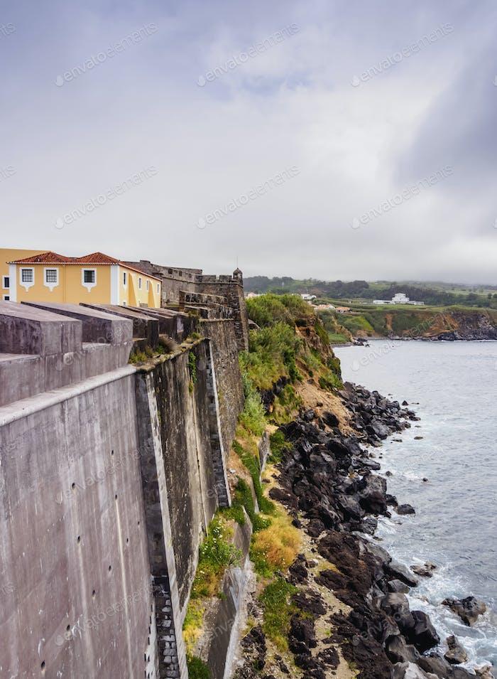 Angra do Heroismo on Terceira Island