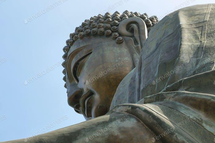 Big Buddha at Ngong Ping, Hong kong
