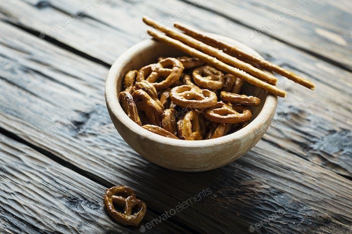 mall salt pretzels