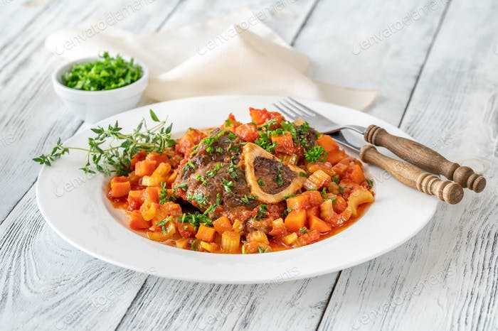 Ossobuco - cooked veal shanks