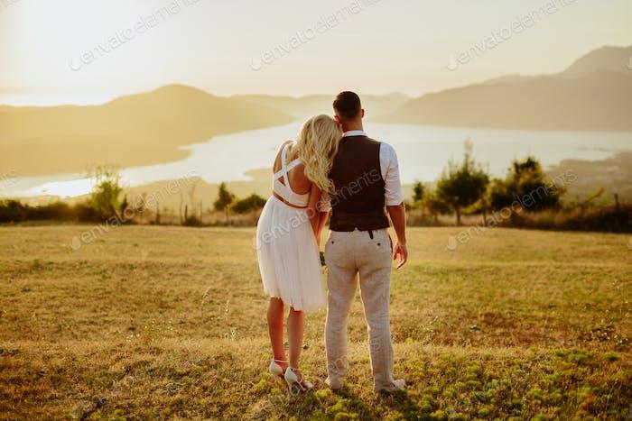 honeymoon couple travel europe
