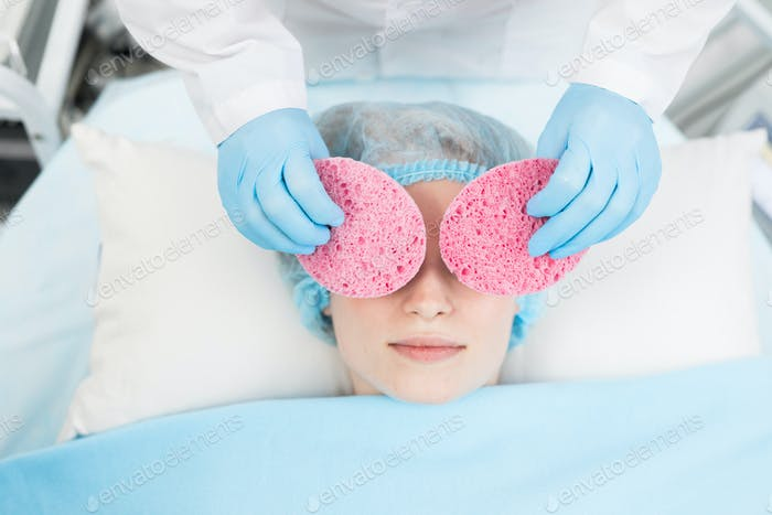 Purifying with sponges