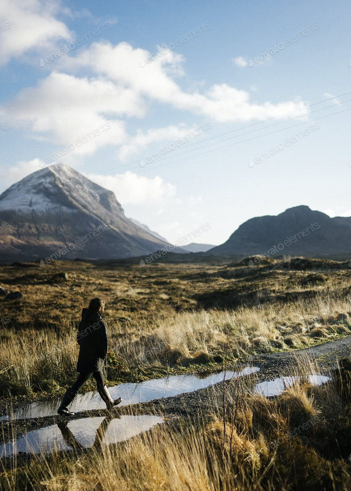 Exploring Glen Etive in Scotland