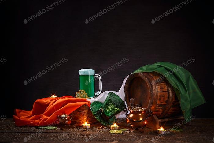 Irisches Festivalsymbol