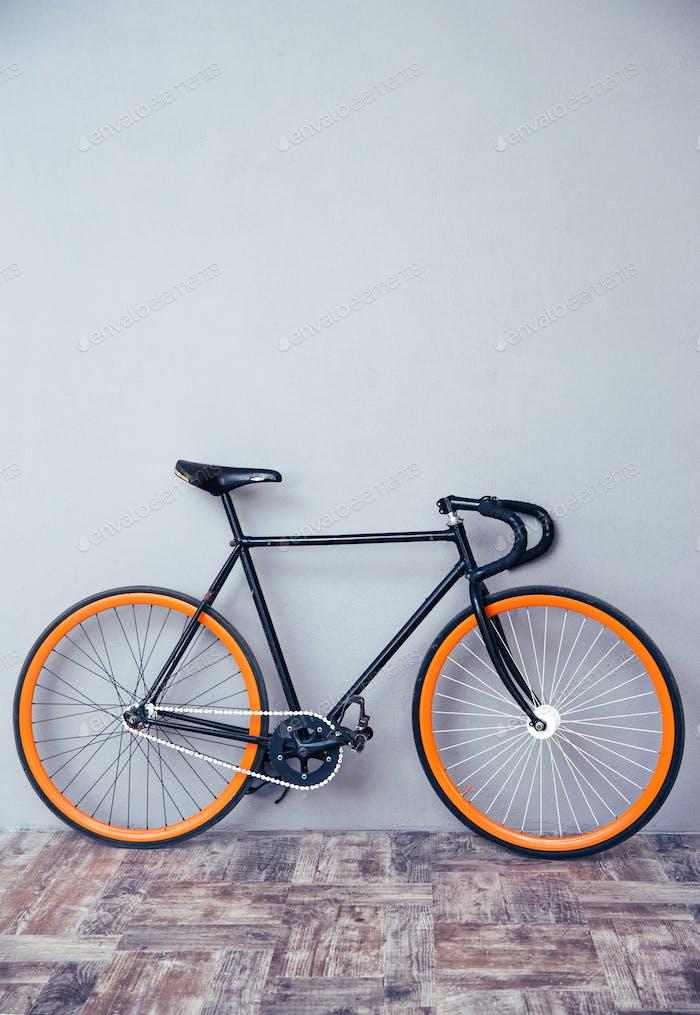 Nahaufnahme Bild eines Fahrrades