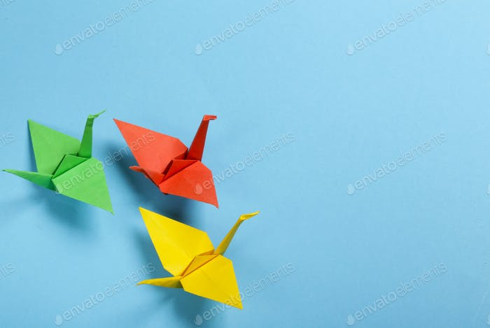 Origami Papierkran