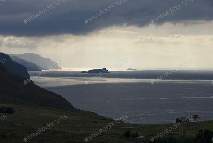 View over the Norwegian Sea
