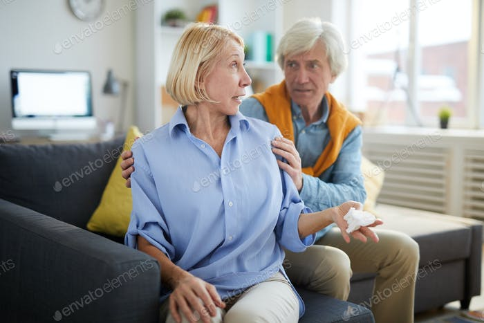 Mature Couple in Conflict