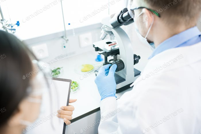 People Working on Research in Laboratory