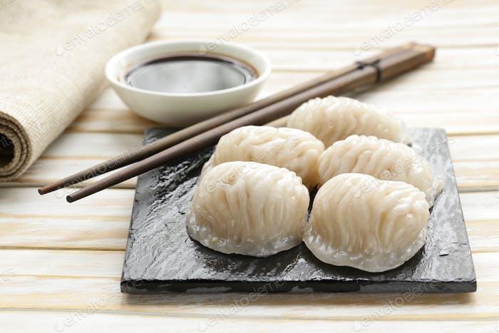 Asian Steamed Meat Dumplings