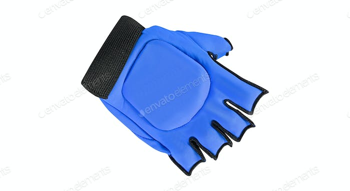 bicycle glove Isolated on a white