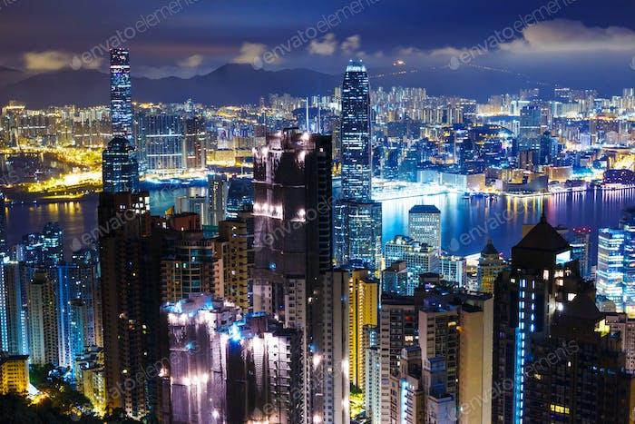 Hong Kong mid night