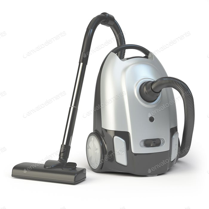 Vacuum cleaner isolated on white background.
