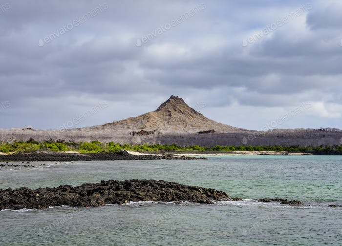 Dragon Hill at Santa Cruz Island, Galapagos, Ecuador