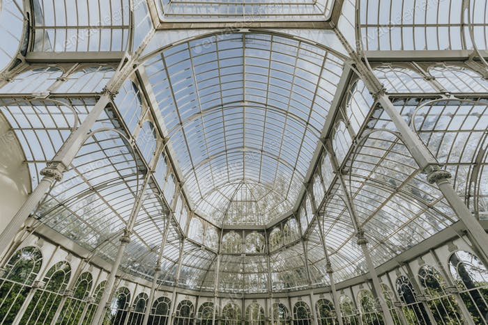 Interior of Crystal palace