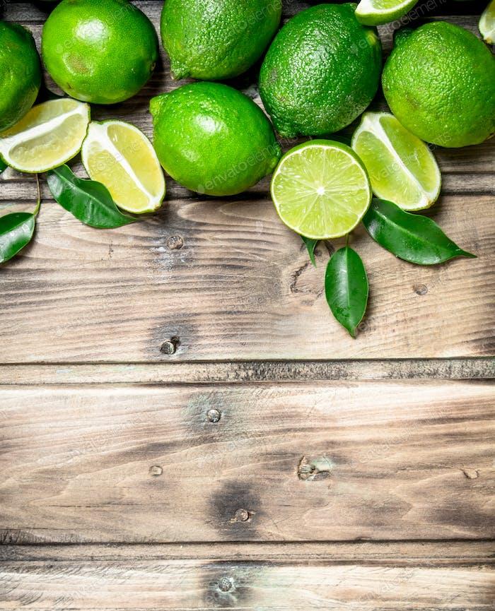 Fresh juicy lime.