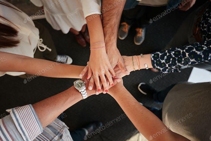 Символ командной работы, сотрудничества и единства