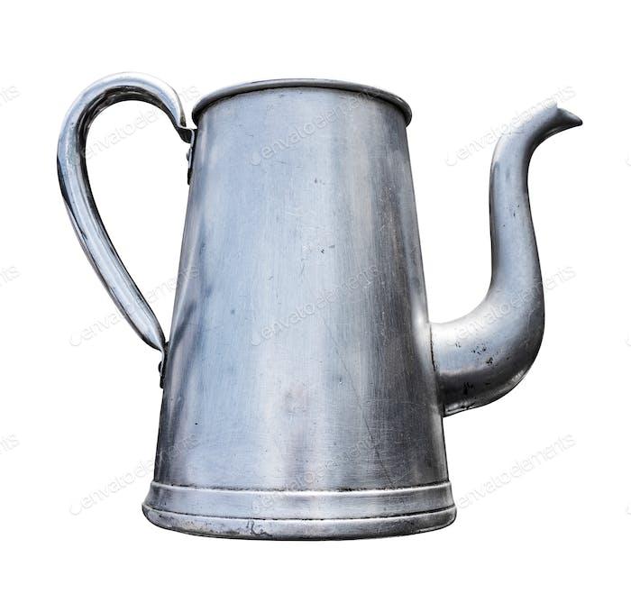 Antique Metal Teapot