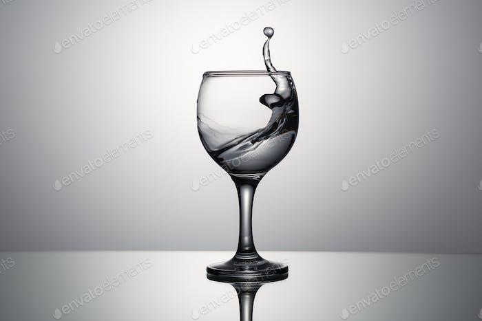 Splash of clear water