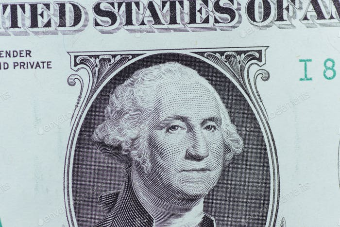 Dollar-Scheine. Amerikanische Dollar