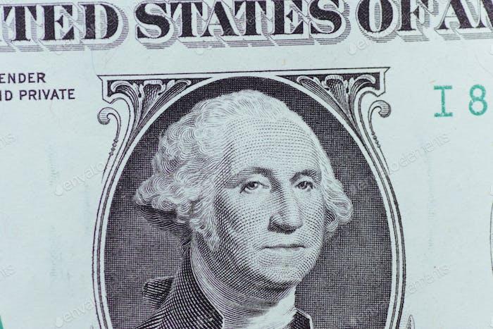 dollar bills. American Dollars