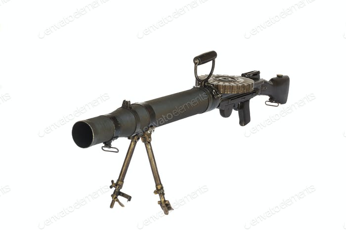 Old Machine Gun