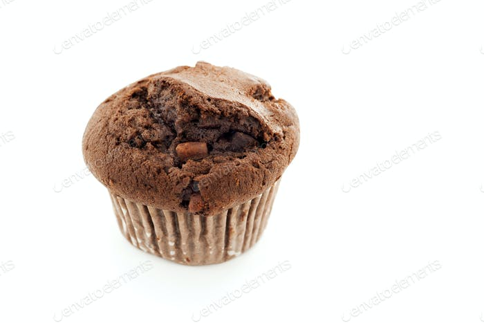 one chocolate muffin