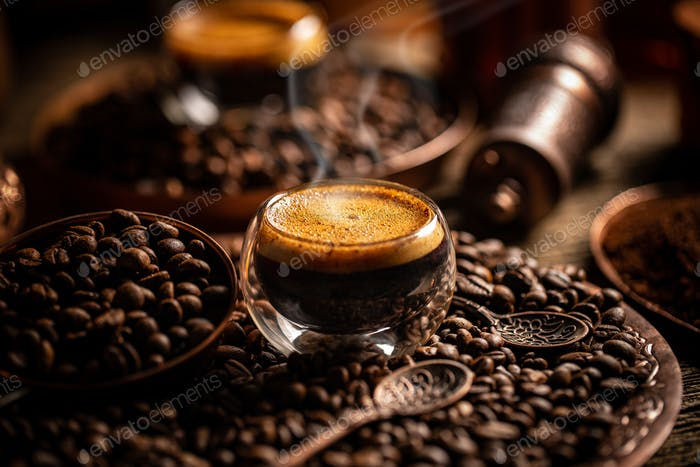 Coffee brewing concept
