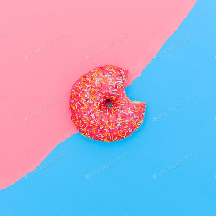Donut eat me creative minimal design