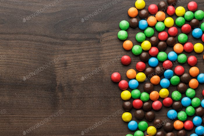 Colorful Sweets Background