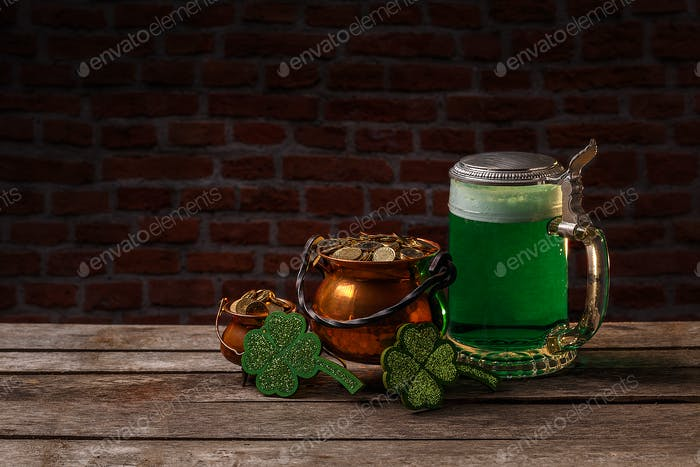 St. Patrick's Day Konzept