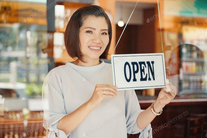 Öffnungsleiste