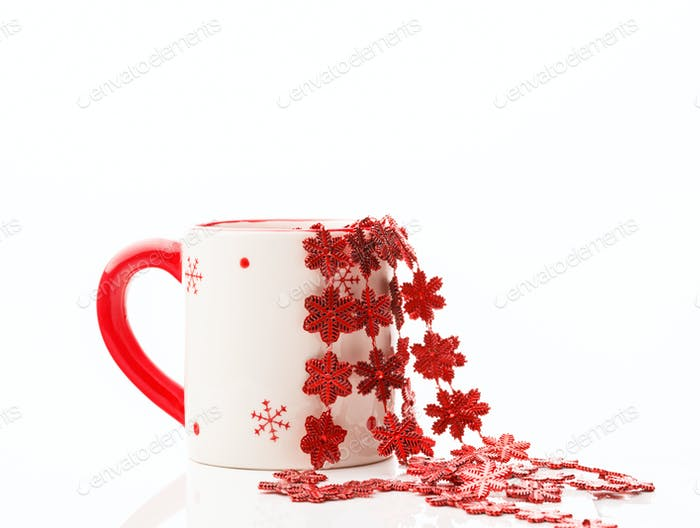 Сup decoration Christmas