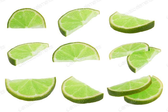Lime fruit isolated
