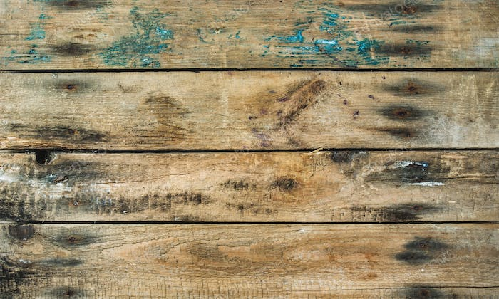 Old rustic faded wooden texture, wallpaper or background
