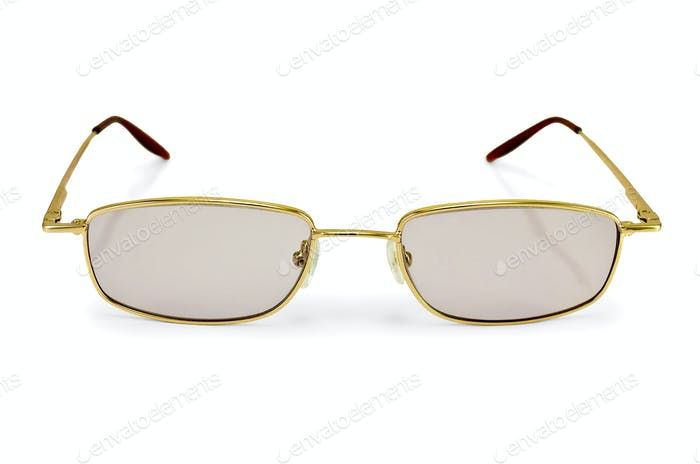Eyeglasses tinted