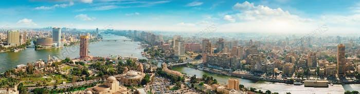 Beautiful Cairo cityscape