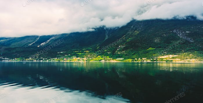 Hardangerfjord is the fourth longest fjord in the world, and the