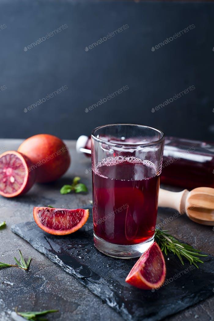 Sangria in Gläsern