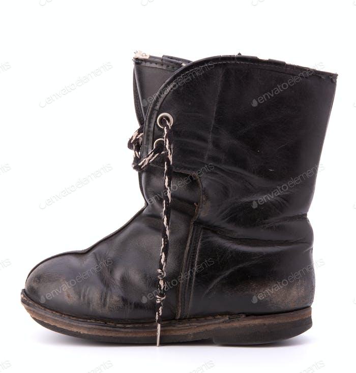 Vintage shabby child's boot