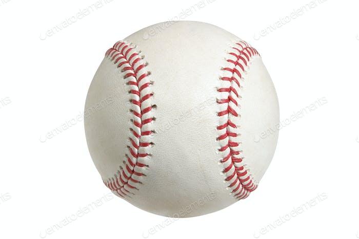 Baseball isoliert auf weißem Hintergrund